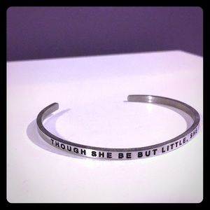 Jewelry - MantraBand, though she be but little she is fierce